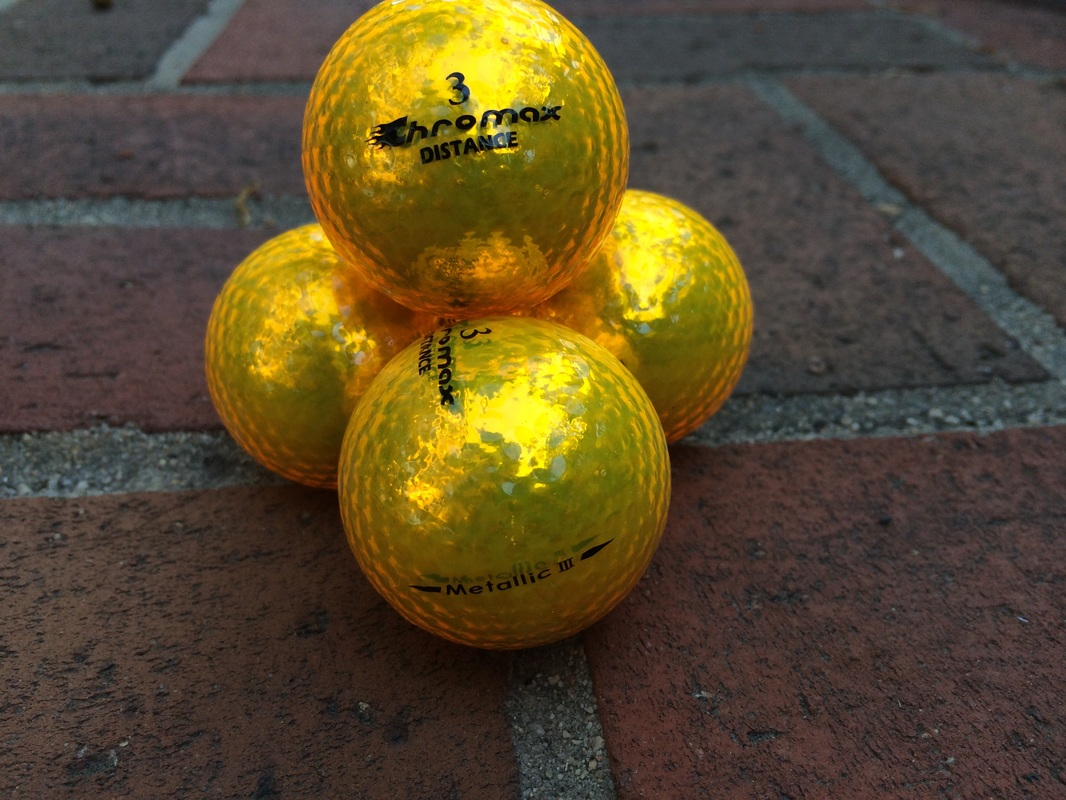 Chromax distance golf balls