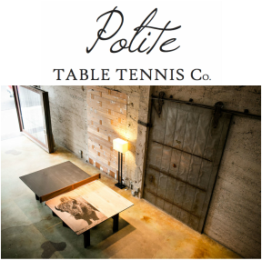 polite table tennis